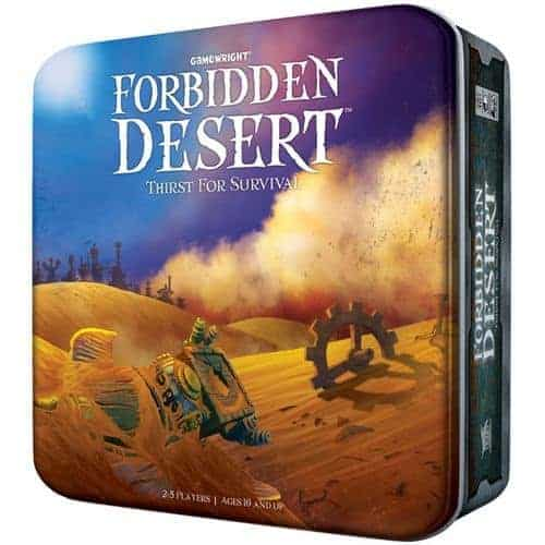 Looking for the best cooperative board games for couples? Forbidden Desert is a quick, fun and easy way to enjoy your time with your partner.