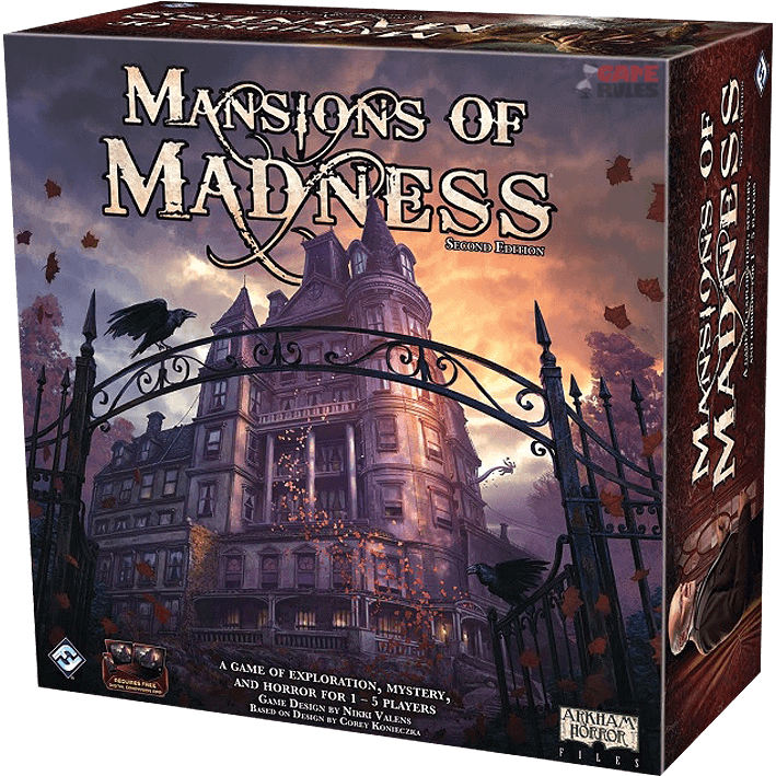 Mansions of Madness is thematic, engaging and one of the best coop board games 2018 has to offer.