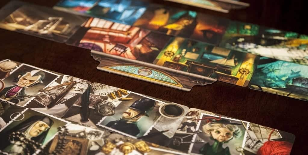 If you enjoyed playing Cluedo in the past and want to step up a level - Mysterium is one of the best cooperative board games for families out there!