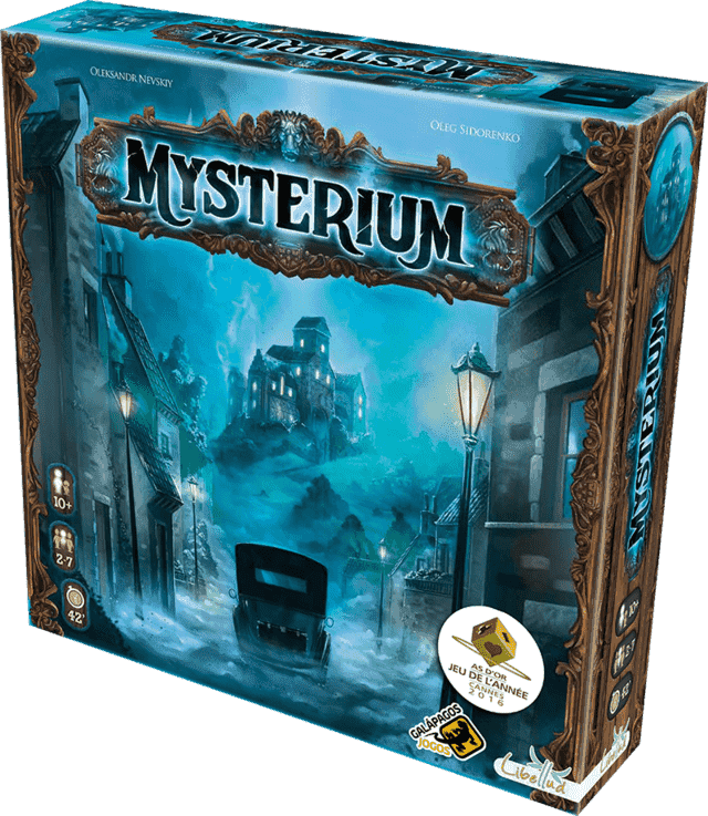 Looking for some quality family time and don't mind a little bit of mystery? Try Mysterium, it is one of the best cooperative board games for families we have played.