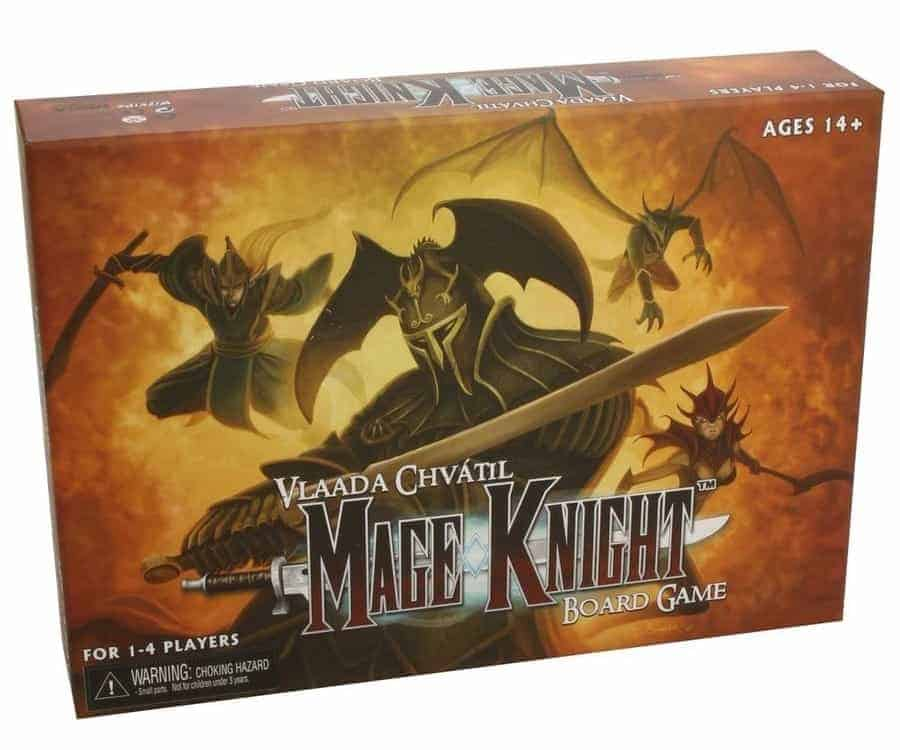 Mage Knight is the best single player board game ever made. Not light or easy, but extremely involving and epic!
