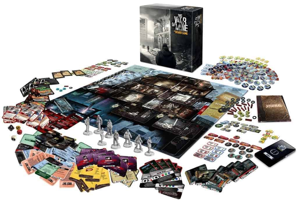 For anyone looking for a deeply thematic and intense feeling only the top solo board games can deliver - This War of Mine is one of a kind.