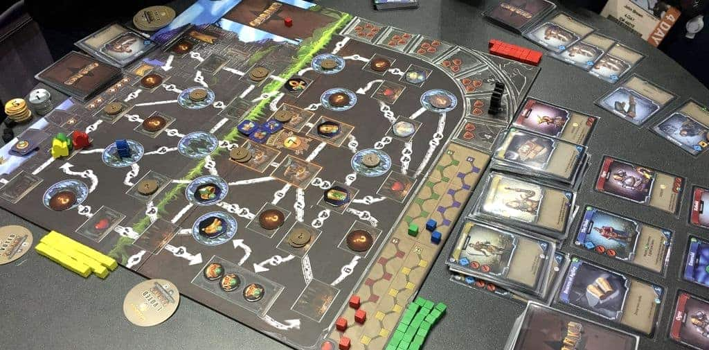Clank is truly special, it works in pairs and trios making it one of the best 2-3 player board games out there!