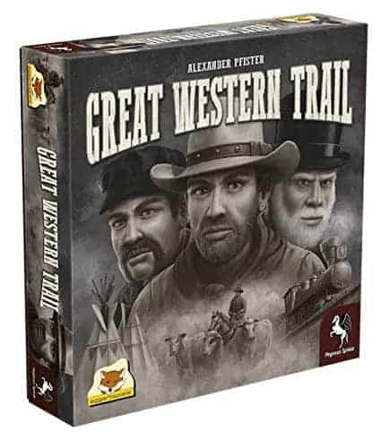 Great Western Trail is a new game about old times. The blend of strategic depth, fun and reasonable complexity make it one of the best board games for 3 players you can buy.