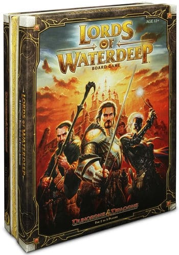 Lords of Waterdeep is an interesting mix of a Euro game and a thematic approach. The unique board gaming experience makes it one of the top three player board games to introduce new players to board gaming.