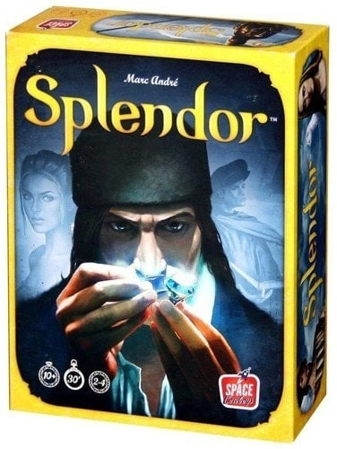 Some of the best three player board games do not need to be complicated and Splendor is a perfect example of it.