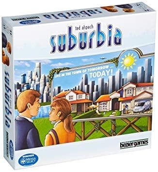 If you are looking for best 3 player board game building civilizations that are relatively light - Suburbia might be just the board game for you.