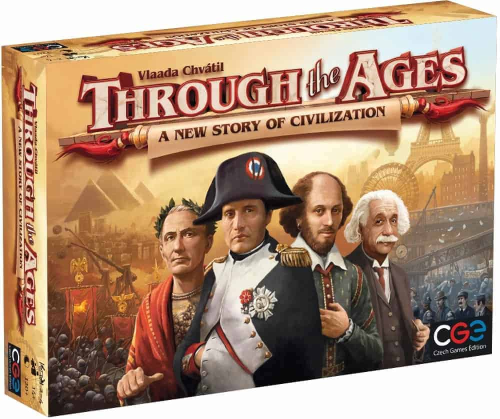If I had to pick the best 3 player board game, it would easily be Through the Ages. Two players is too little, four make the board game too long. Three on the other hand is simply perfect!