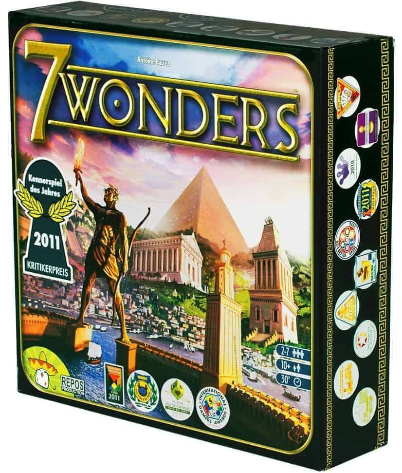 7 Wonders is one of a kind, only a handful of board games have managed to get to the best family board games of all time ranks and 7 Wonders is one of them.
