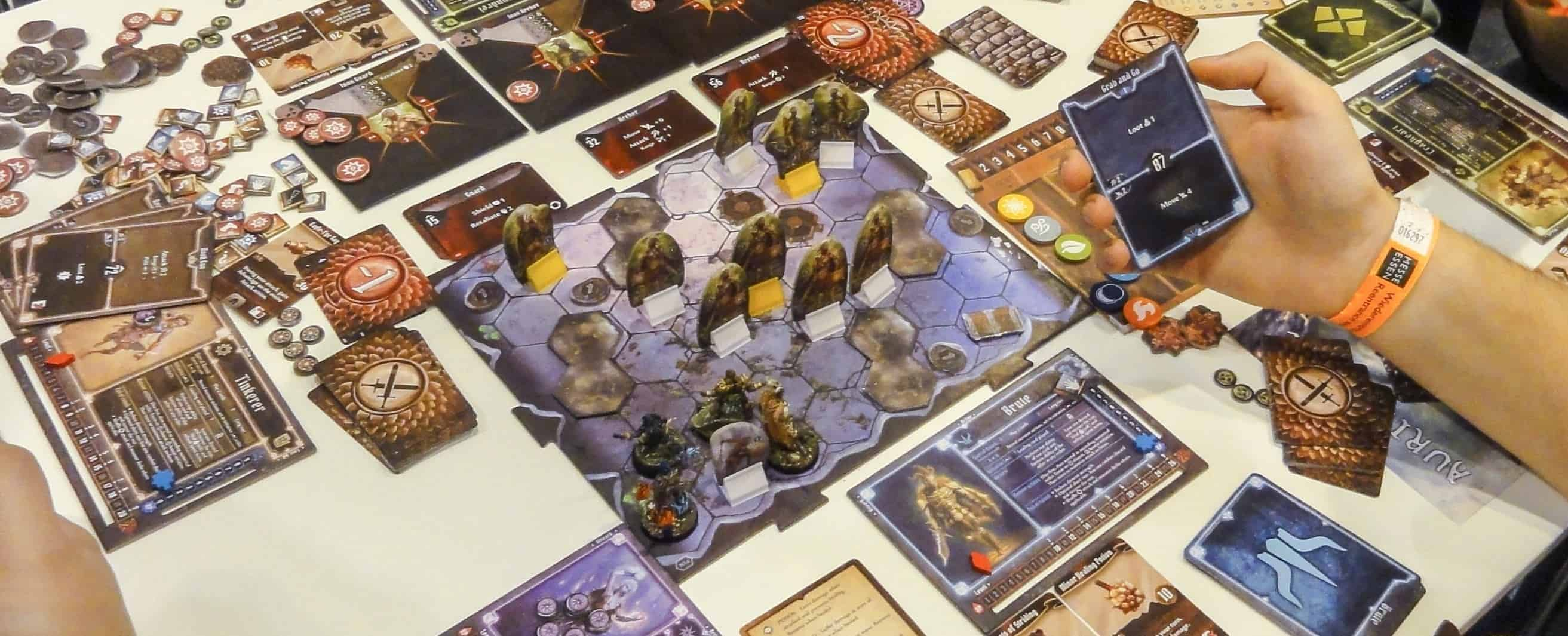 Gloomhaven is not only the best cooperative board games, according to BGG , it is the best board game in the world!