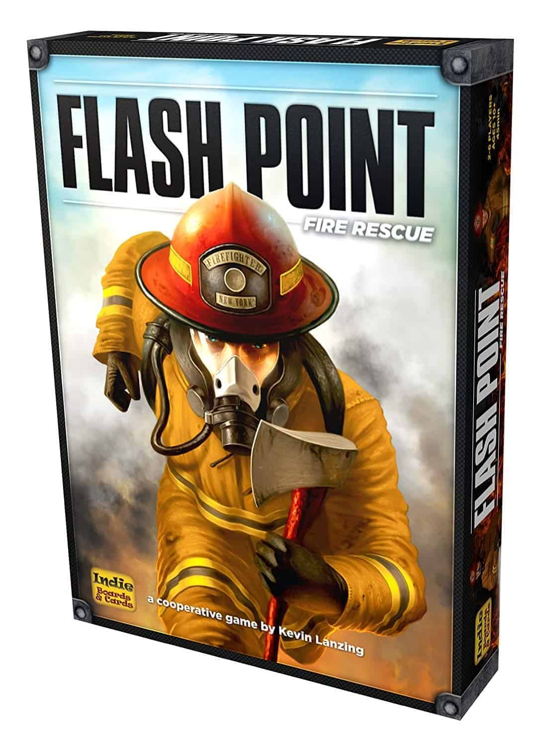 Flash Point was one of the easiest choices for our top 10 best family board games shootout.