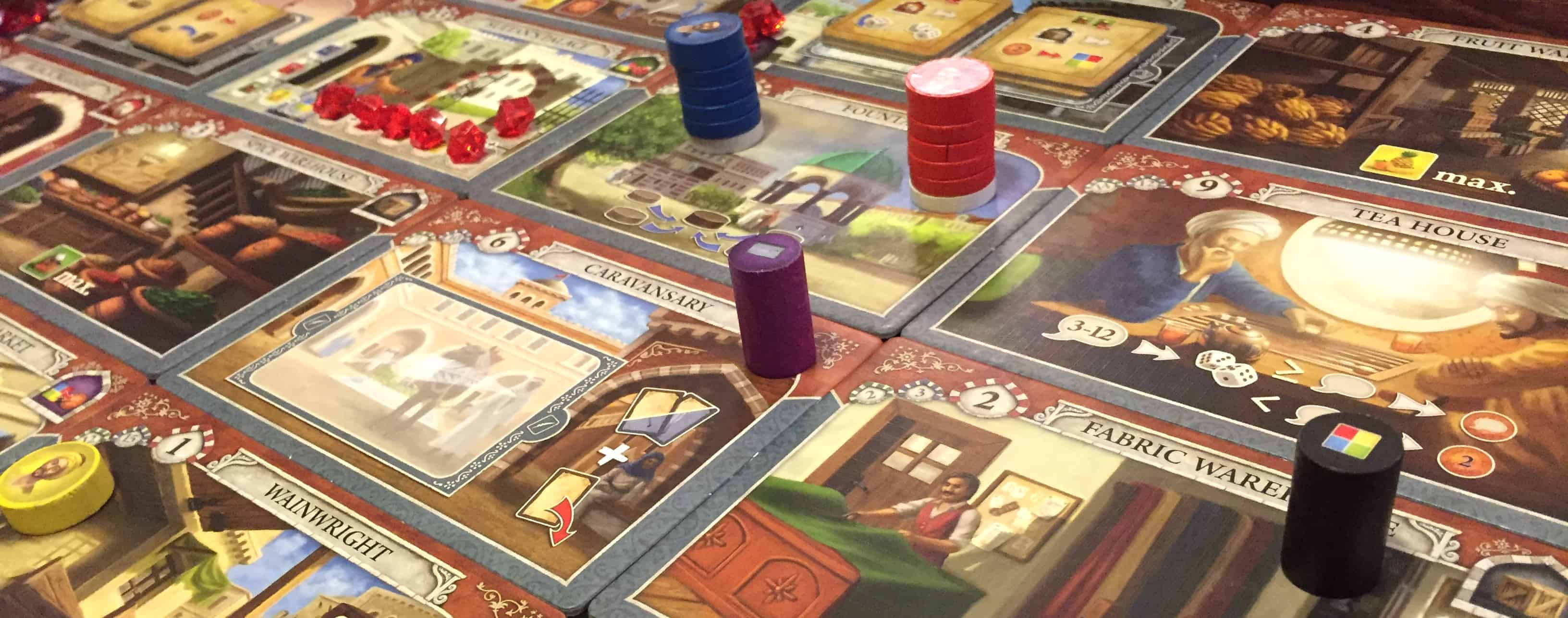If you like middle east themes and trading, you may find Istanbul to be the best family board game for you!