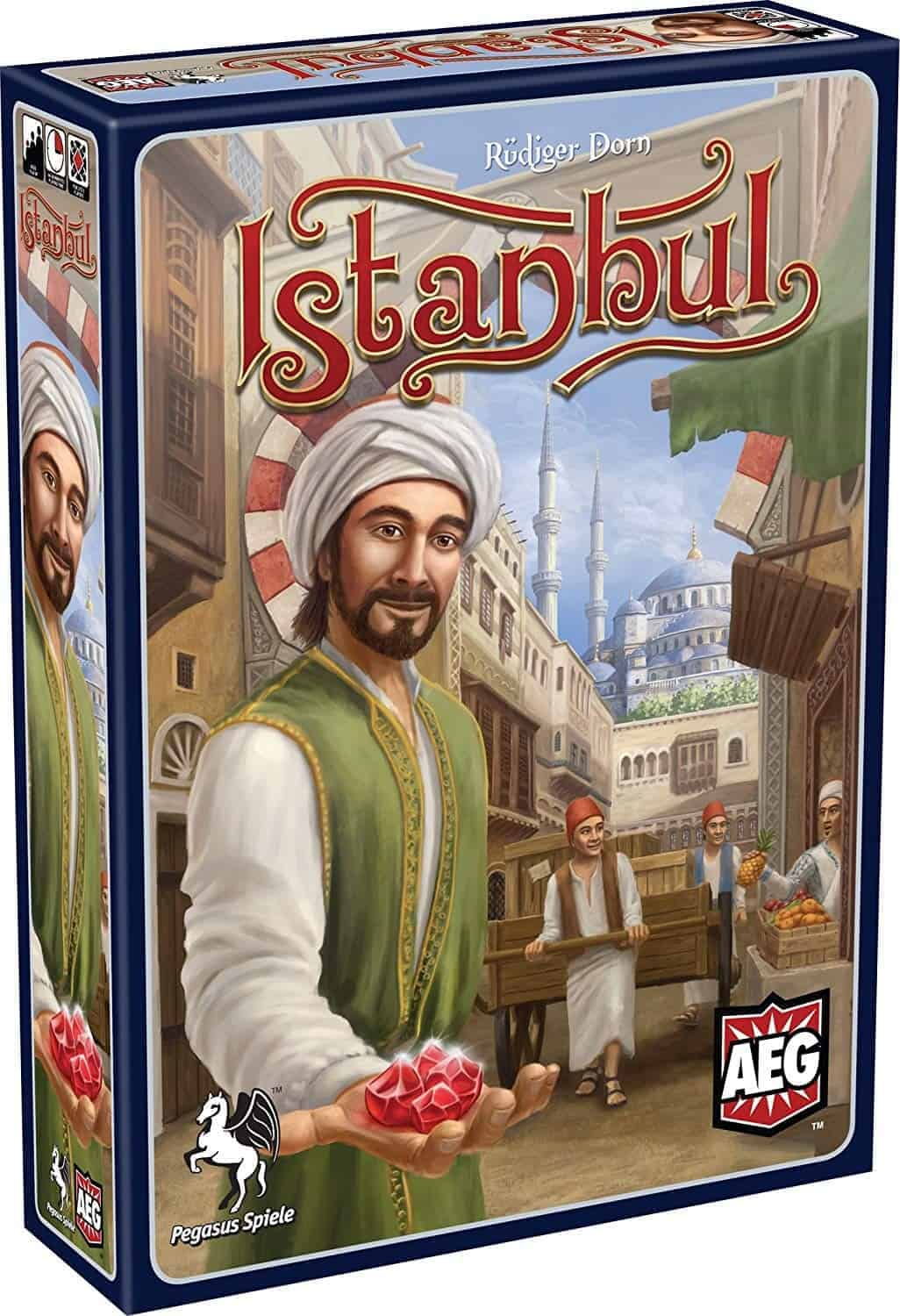 Picking the best family board games is laborious as it is the most popular type of board games. Istanbul was the quickest pick though!