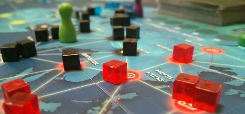 Pandemic can be played with anyone 10 years and older making it one of the best family board games for adults.