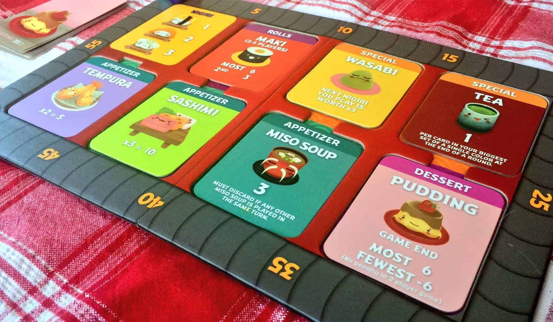 There is an endless amount of good family board games available, but cherry picking the top ones could be tricky. Sushi Go Party is an easy choice.
