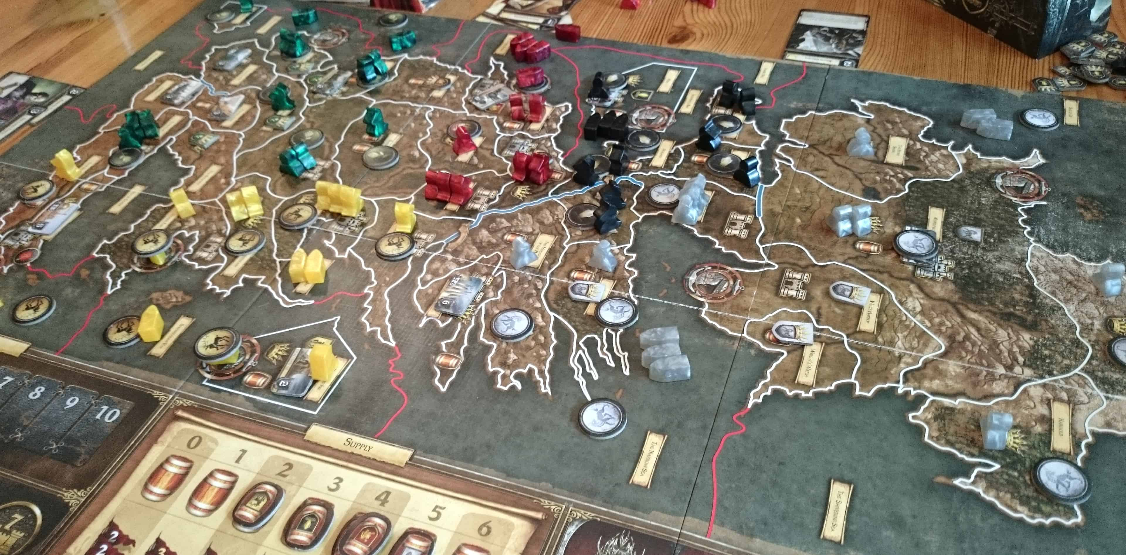 Not only is A Game of Thrones an amazing Fantasy board game, it is also probably one of the best fantasy flight games ever made.