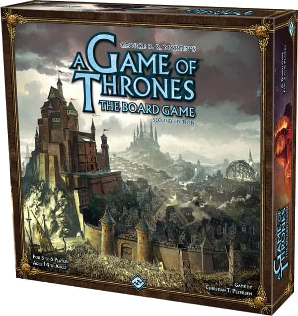 If there is such thing as the best sci fi fantasy board game, then A Game of Thrones is definitely one of them