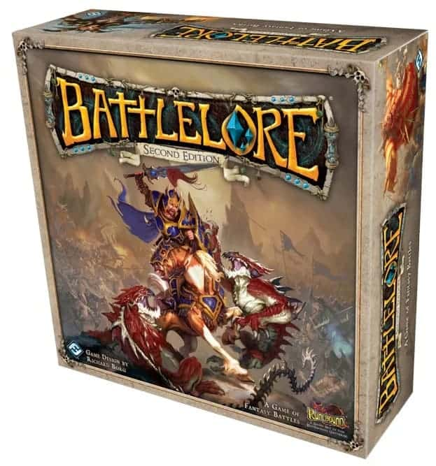 Battleore is an old time classic, one of the top fantasy board games of the decade!