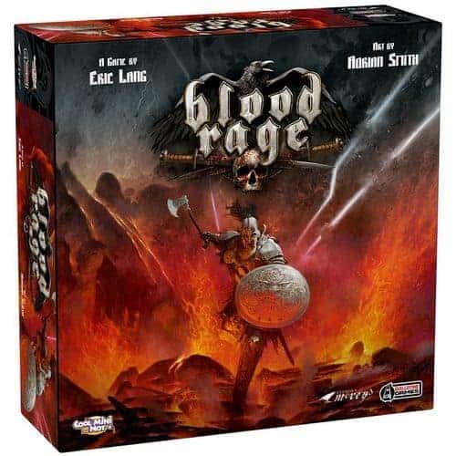Blood Rage is extremely addictive thematic and enjoyable fantasy board game experience.