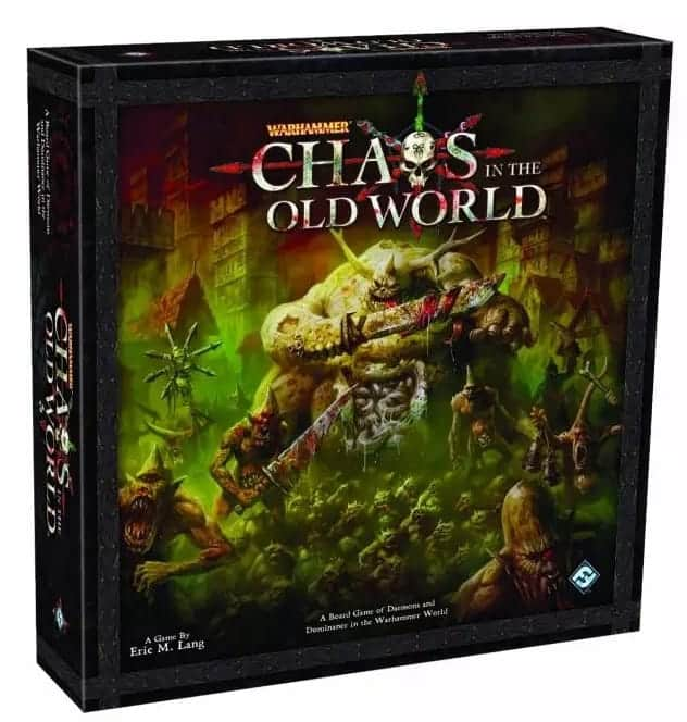 If you are looking for fantasy board games with miniatures, then Chaos in the Old World is definitely to be considered.
