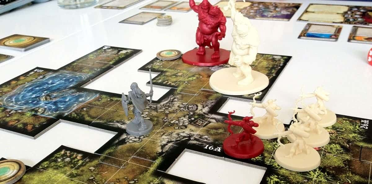 If you are looking for the best fantasy rpg board games, Descent will not disappoint.
