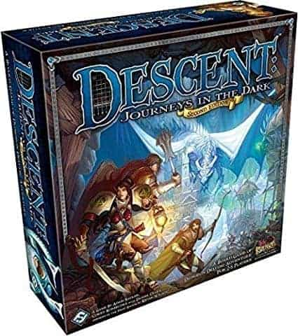 Descent is a time tested classic that has earned its spot among the best fantasy board games of all times a while ago!