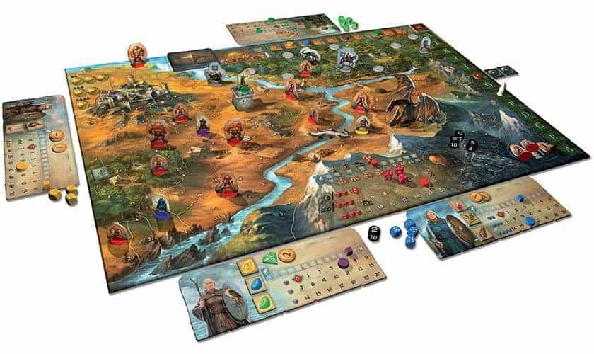 Legends of Andor is definitely in the list of the best fantasy board games 2018 has to offer.