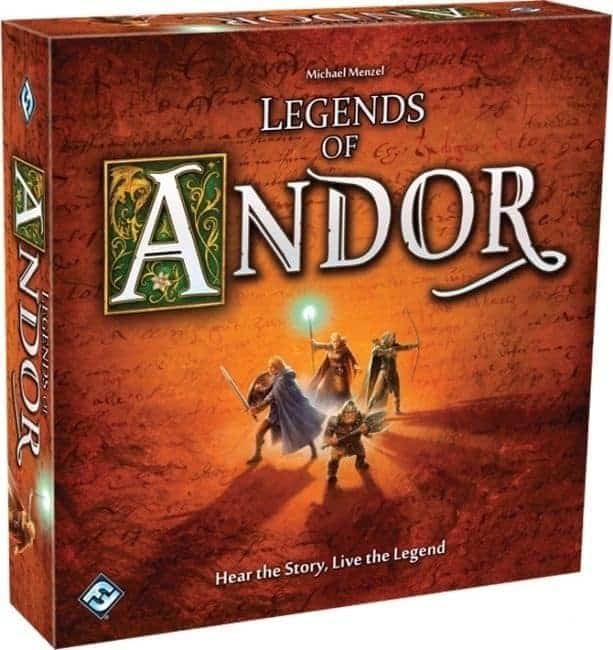 Legends of Andor is not a new fantasy board game but rather an old veteran that stood the test of time well!