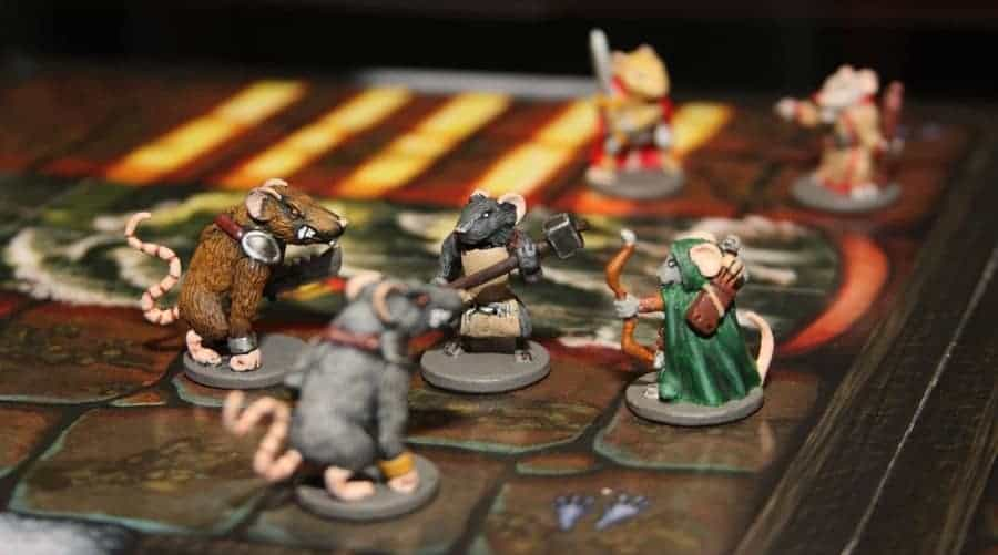 Mice & Mystics is the best family fantasy board game!