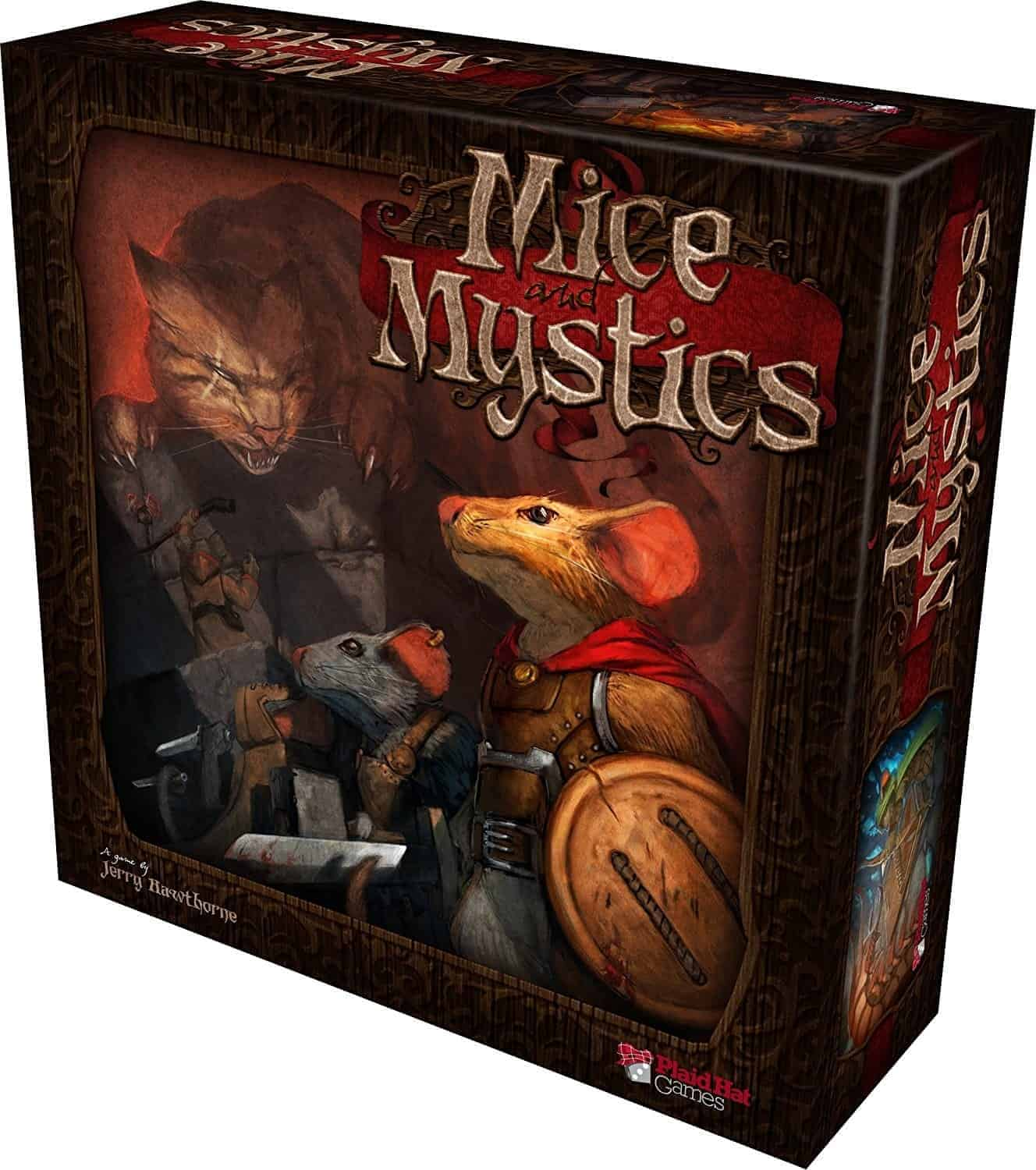 If you have kids, Mice & Mystics is set to become one of their most favorite fantasy board games ever!