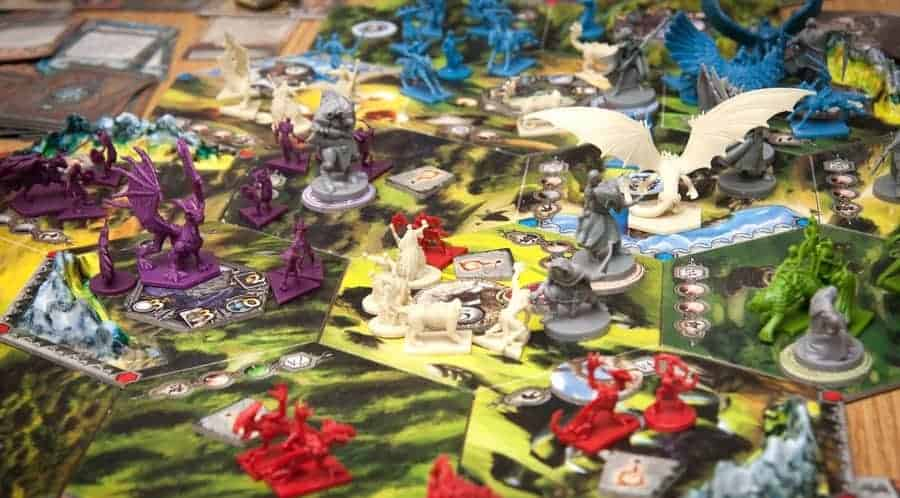 In my view, the best 4 player fantasy board game ever made!