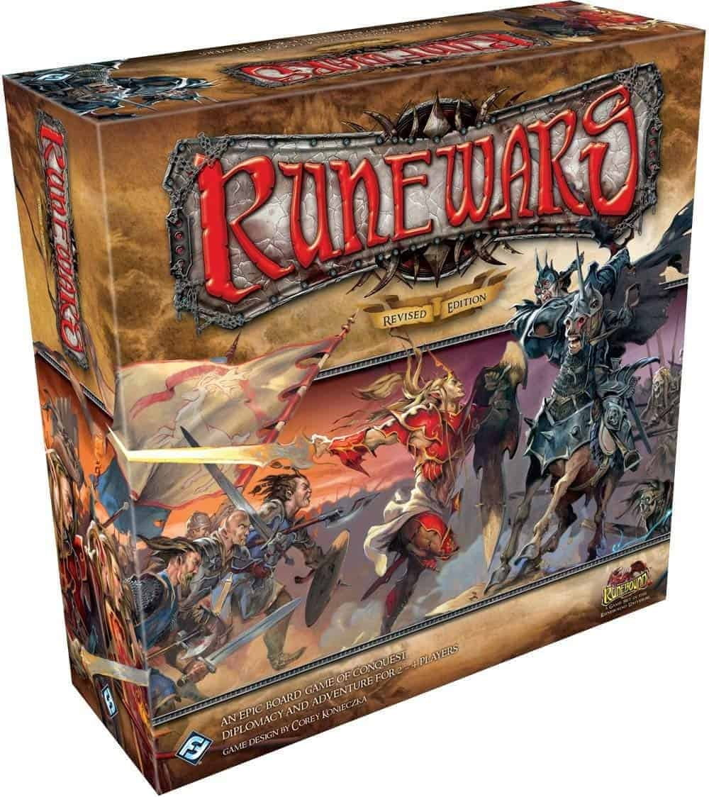 Runewars is truly epic! It is perhaps the best fantasy war board game there is, highly recommended!