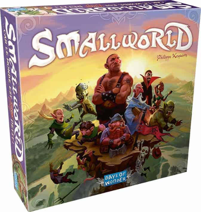 Small World is a fantasy board game for adults and kids
