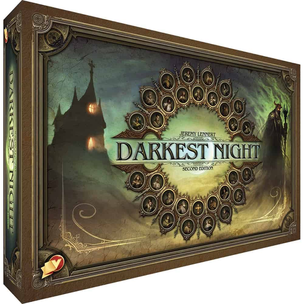 If horror is your thing, then Darkest Night is one of the best tabletop RPG board games we have played.