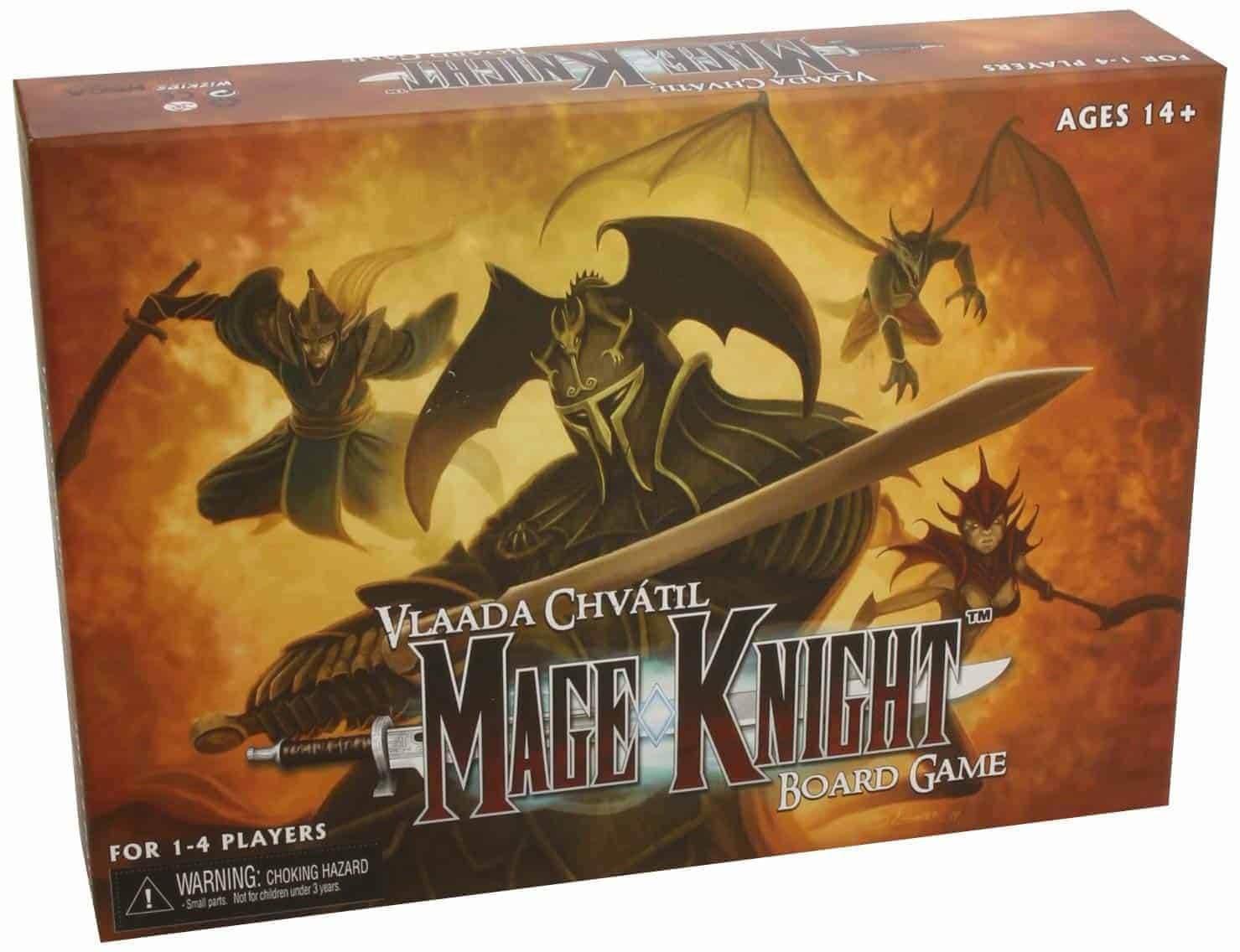 Mage Knight is one of the best RPG board games for a solo play. It has redefined what an RPG board game is and still remains a solid proposition.