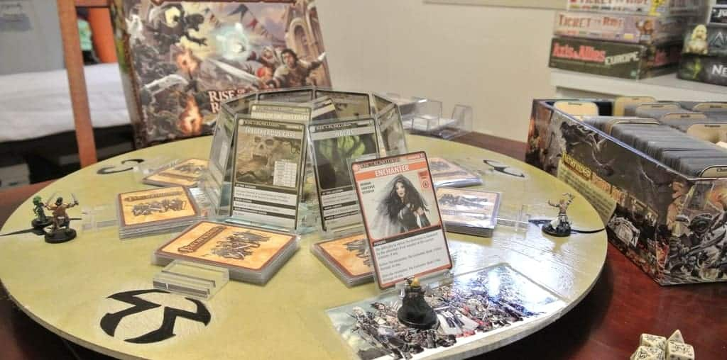If you are looking for the top RPG card games, Pathfinder won't disappoint.