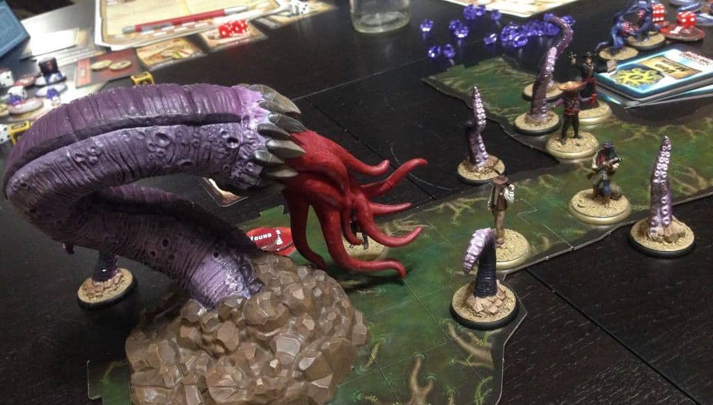 Role playing board games in Cthulhu Mythos are not rare, but Shadows of Brimstone is special in almost every way.