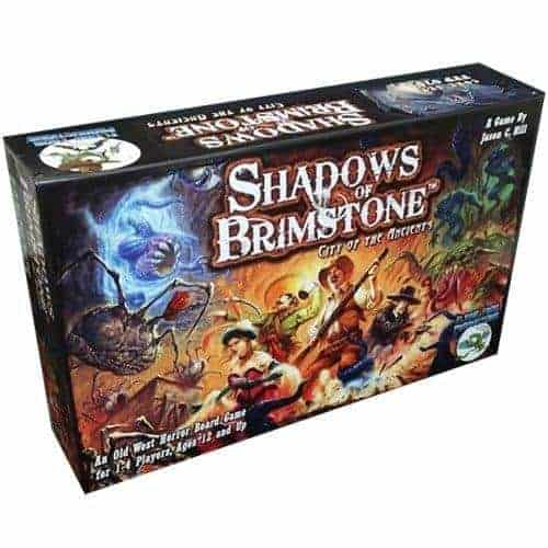 No RPG board games list would have been complete without Shadows of Brimstone - an all time favorite.