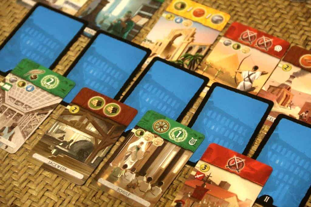 If you are looking for a top two player card game, 7 Wonders Duel won't disappoint.