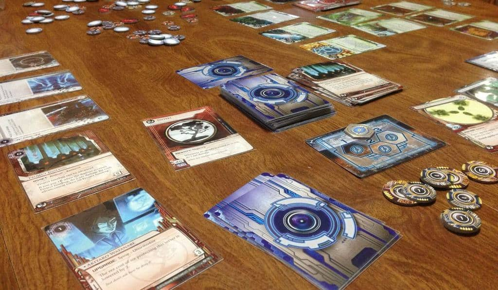 Working out the best 2 player board games is not easy as there are thousands of games, but Android: Netrunner is definitely one of them.