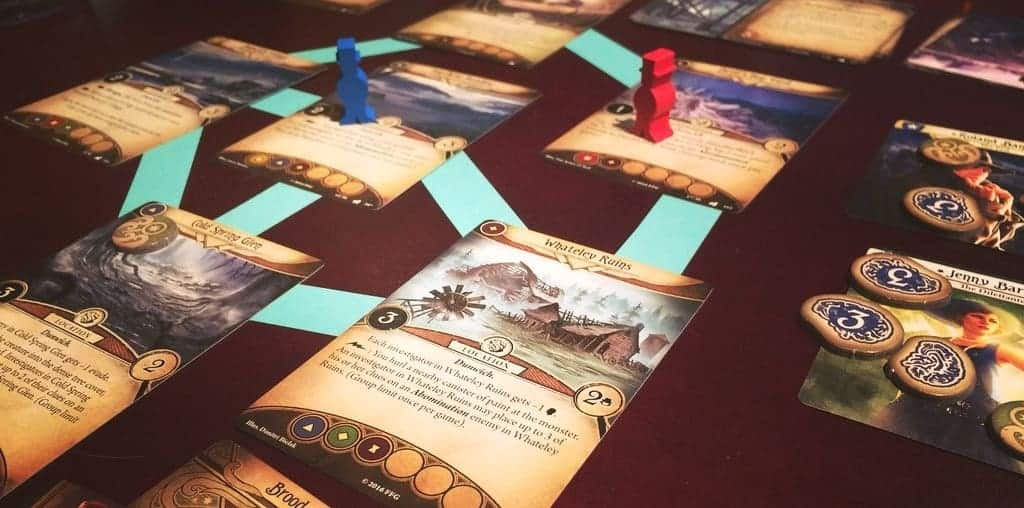 With an abundance of options, picking the best 2 player board games is tricky, but Arkham Horror made it to top 10 without questions asked.