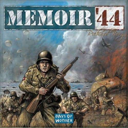 An all time classic and favorite Memoir 44 is one of the best 2 player board games of all time.