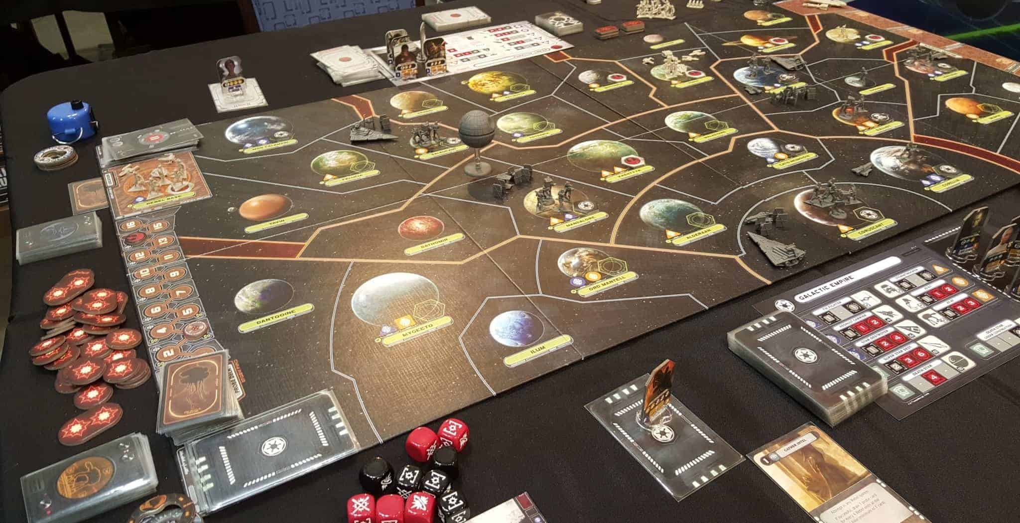 As one of the best 2 player strategy board games Star Wars: Rebellion is definitely a board game to consider.