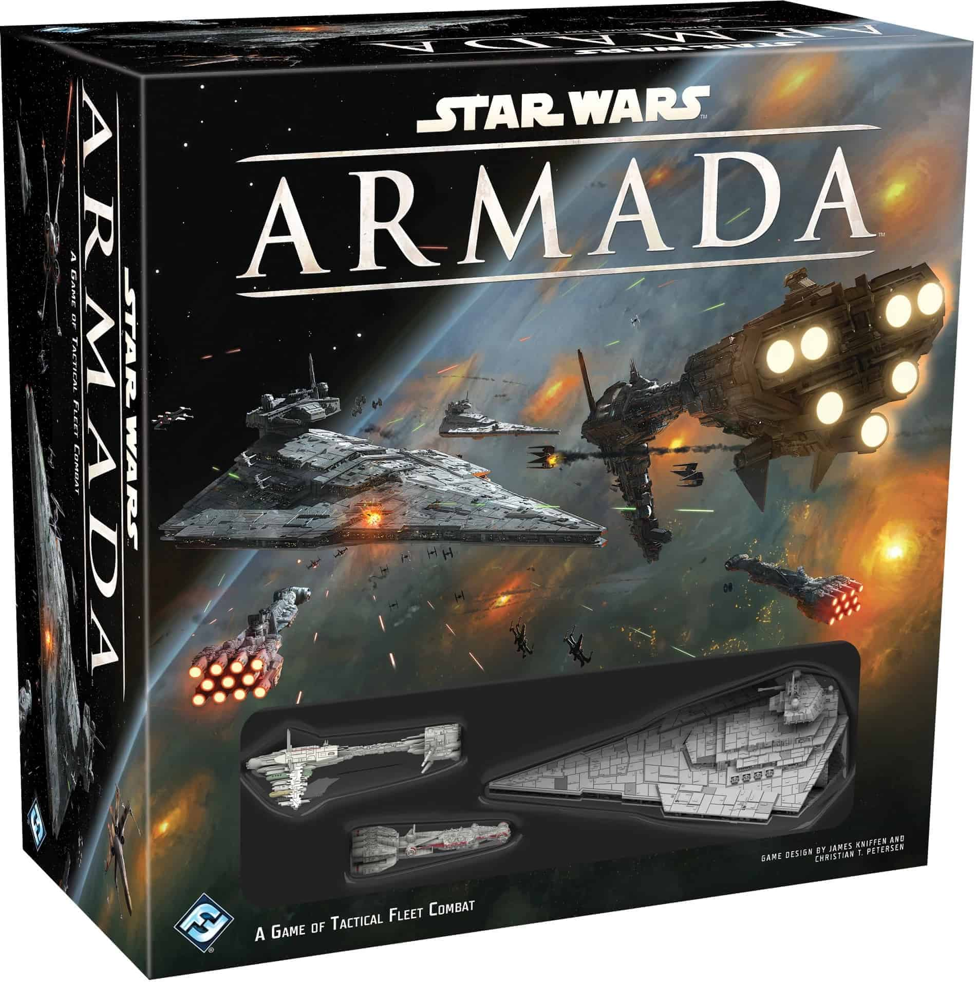Star Wars Armada is the best Star Wars Board Game for epic scale space battles
