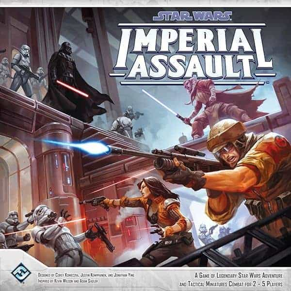 Imperial Assault is the star wars tabletop rpg that takes the best from Descent and makes it better!