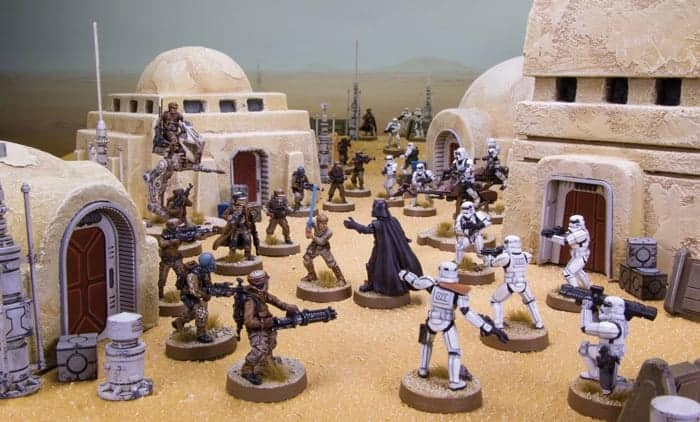 Need a Star Wars Tabletop war game? Look no further, Star Wars Legion is the latest addition from Fantasy Flight Games!