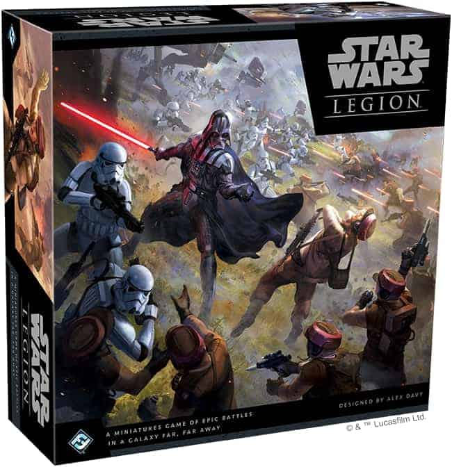 Star Wars Legion is one of the best star wars themed board games. It is also an amazing war game overall.