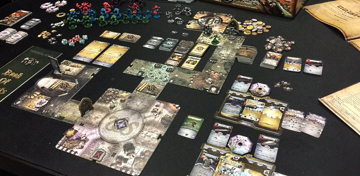 Sword & Sorcery is one of the quickest board games in history to join the ranks of the best RPG board games out there.
