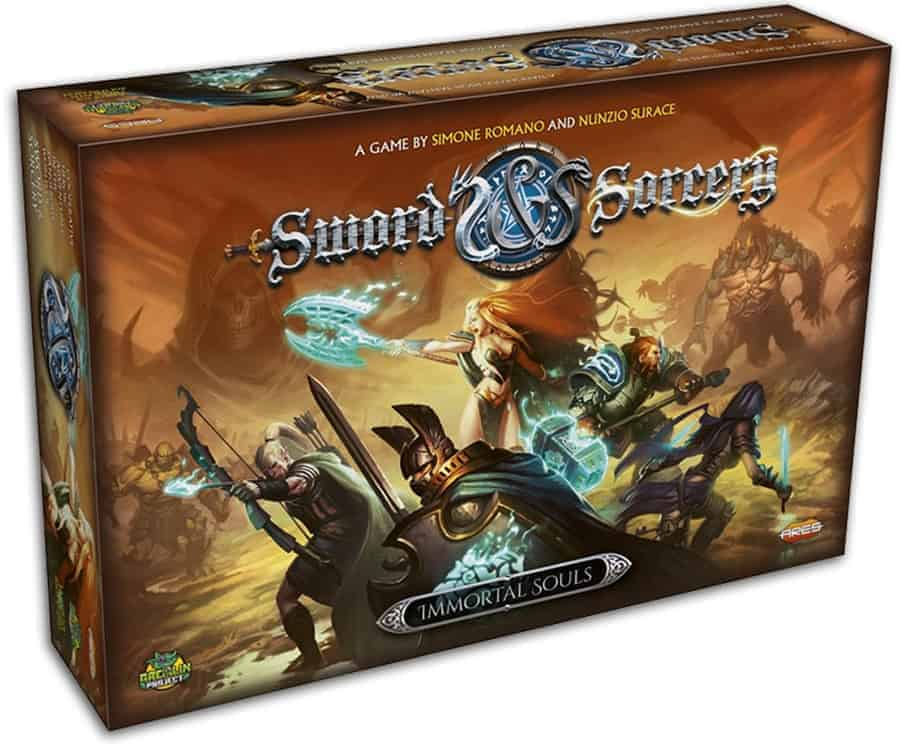 Looking for the top RPG board games with an adventurous twist? Sword & Sorcery is worth checking out.