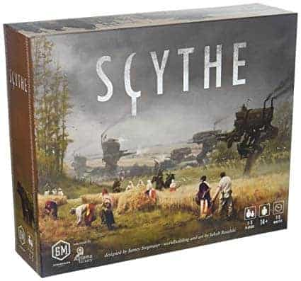 For anyone looking for a steampunk challenge, Scythe is one of the best solitaire board games on the market. It is not a walk in the park however.